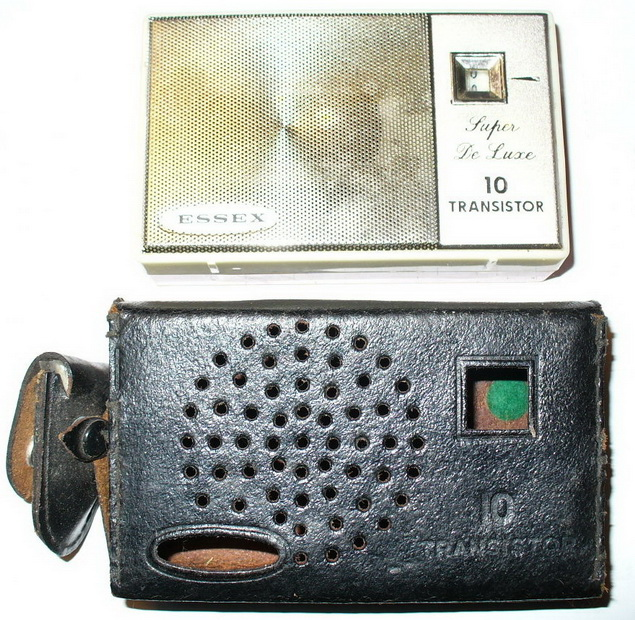 Transistor Radio and Case